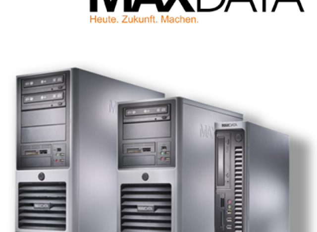 Website Maxdata